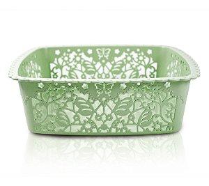 Cesto Organizador (M) Life Style Jacki Design - AYJ17235 Verde