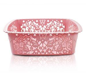 Cesto Organizador (M) Life Style Jacki Design - AYJ17235 Rosa