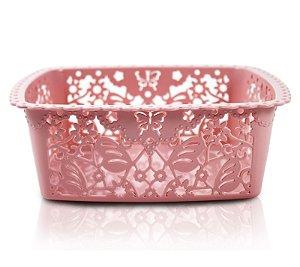 Cesto Organizador (P) Life Style Jacki Design - AYJ17233 Rosa