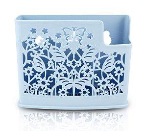 Cesto Organizador para Parede Life Style Jacki Design - AYJ17167 Azul