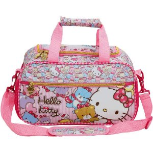 Mini Sacola Escolar Hello Kitty Tiny Bears - 7867