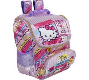 Mochila  Escolar 16 Hello Kitty Washi Pink - 7882
