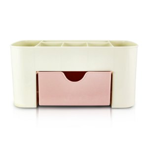 Organizador de Mesa Multifuncional Jacki Design - AGD18596 Rosa