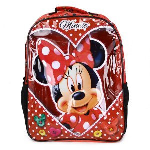 Mochila Escolar 16 Minnie Love Xeryus - 8912
