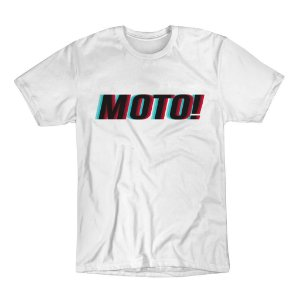 Camiseta ASW MOTO Branco M