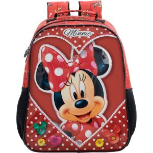 Mochila Escolar 14 Minnie Love Xeryus - 8913