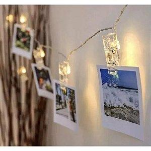 Luminária Varal de Fotos com Pregador Zona Criativa - 10081896