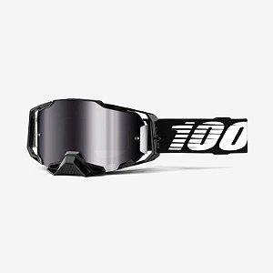 Óculos 100% Armega Espelhado Black