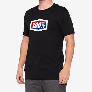 Camiseta 100% Original Preto Tam. M
