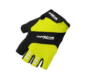Luva Mattos Racing Bike Pro Fit Amarelo Fluor Tam. M