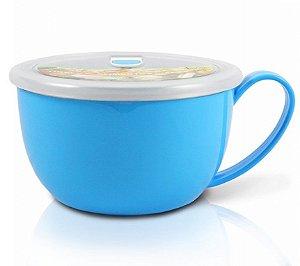 Tigela para Alimentos com Alça 1100ml AWM17221 Cor:Azul