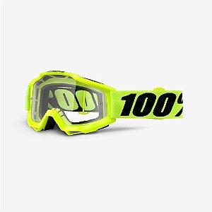 Óculos 100% Accuri Forecast Amarelo Fluor