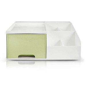 Organizador Multiuso de 1 Gaveta Jacki Design - AHX20906 Verde