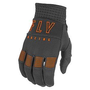 Luva FLY F16 2021 Cinza/Laranja Tam. G