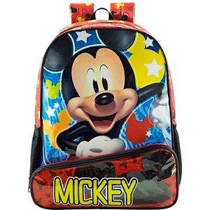 Mochila  Escolar 14 Mickey Hey Mickey - 8963