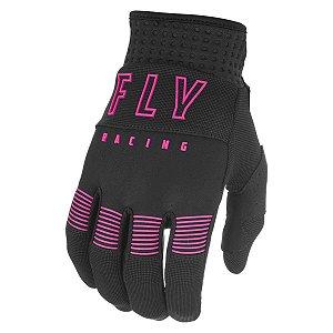 Luva Feminina FLY F16 2021 Pink/Preto Tam. G