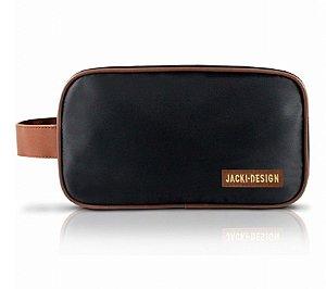 Necessaire com Alça For Men Jacki Design - AHL17209 Cor:Preto/Marrom