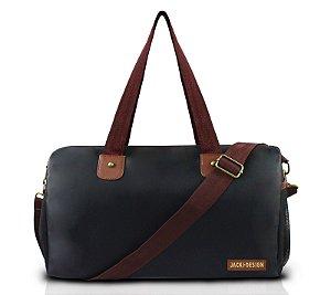 Bolsa de Viagem For Men II Jacki Design - AHL17206 Preto/Marrom