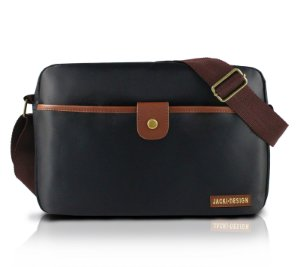 Bolsa Lateral For Men II Jacki Design - AHL17208 Preto/Marrom