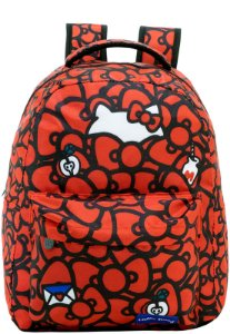 Mochila Escolar Hello Kitty T2 Xeryus - 9050