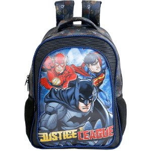 Mochila Escolar 14 Liga da Justica Heroes United - 7623