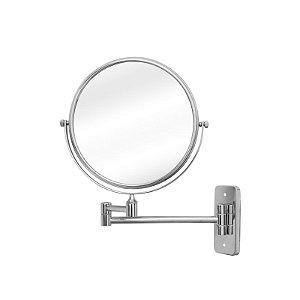 Espelho de Aumento Dupla Face de Parede Panther  PTH1308 8 Polegadas 5x