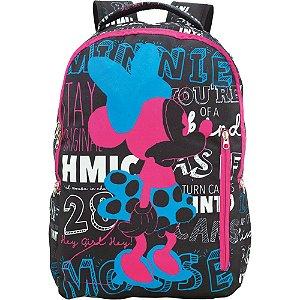 Mochila Escolar Minnie T3 Xeryus - 9092