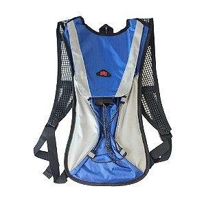Mochila de Hidratação com Bolsa Refil 2 Litros - LL82080 Azul