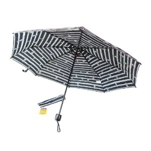 Guarda-Chuva Mini Feminino Preto Snoopy Semax - SP3908