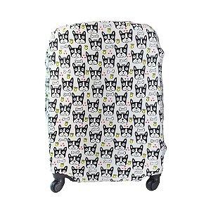Capa para Mala de Viagem Média em Poliéster Dog Yin's - YS27010