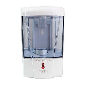 Dispenser com Sensor Automático para Álcool em Gel ou Sabonete Líquido 600ml Panther - Q-4100