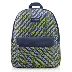 Mochila City Verde Zigzag Jacki Design - ABC17569