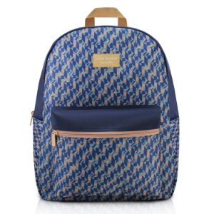 Mochila City Azul Zigzag Jacki Design - ABC17569