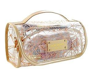 Necessaire Rocambole Crystal Bege Jacki Design - ABC17188