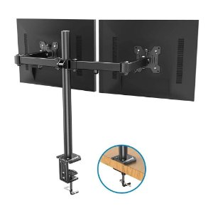"Suporte Bi-Articulado de Mesa para 2 Monitores 13-32"" AR-204"