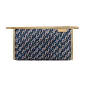 Necessaire Envelope City Azul Zigzag Jacki Design - AHL17563