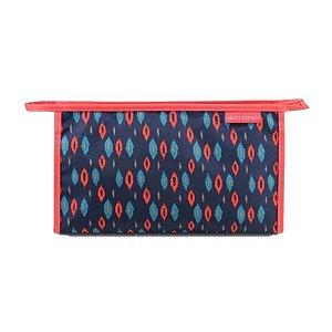 Necessaire Envelope City Azul Gota Jacki Design - AHL17563