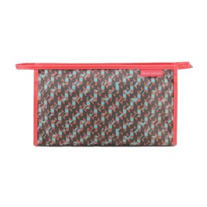 Necessaire Envelope City Cinza Zigzag Jacki Design - AHL17563