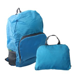 Mochila Dobrável - LL82545 Cor:Azul
