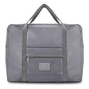 Bolsa de Viagem Dobrável GG Jacki Design - ARH18693 Cor:Cinza