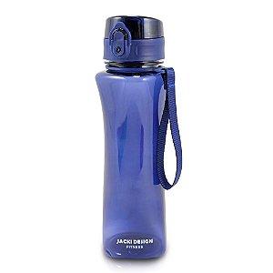 Garrafa Squeeze com Alça 550ml Lifestyle Azul Jacki Design - AKX19777