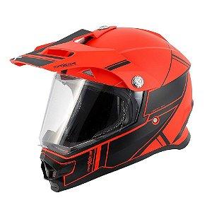 Capacete Mattos Racing TTR 2 Vermelho / Preto Tam. 58