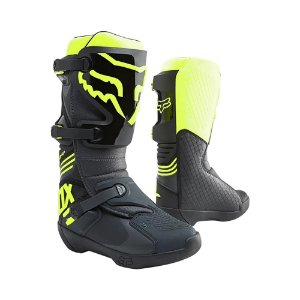Bota Fox MX Comp Amarelo Fluorescente 9 USA (40/41 BRA)