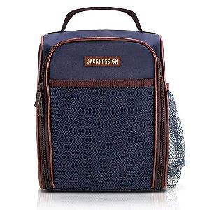Bolsa Térmica (For Men) Azul Marrom Jacki Design - AHL17376
