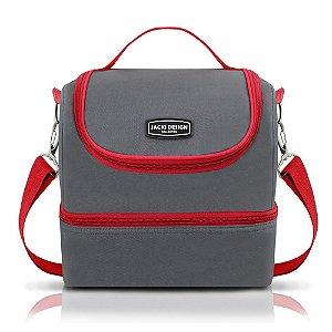 Bolsa Térmica G Urbano Vermelho Jacki Design - AHL16017