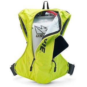 Bolsa de hidratação USWE Outlander 4L Amarelo Fluorescente