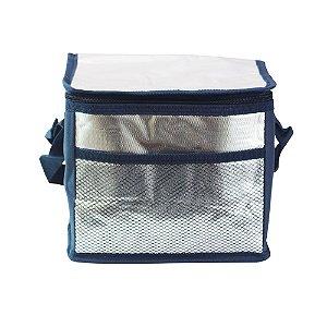 Bolsa Térmica 5,5L Azul Escuro Casita - CA15074