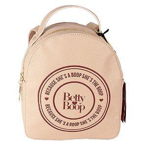 Bolsa de Costas Pop 2 em 1 Betty Boop Semax Rosê P - BP12003