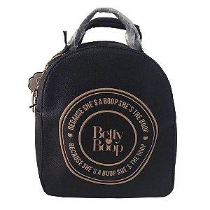 Bolsa de Costas Pop 2 em 1 Betty Boop Semax Preto P - BP12003