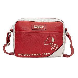 Bolsa Transversal Snoopy Semax Vermelho P - SP12002